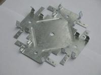 Однорівневий з'єднувач CD-профілів (краб) 148х148 (0.65-0.80-1.0 мм)