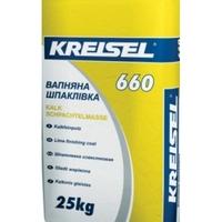 Шпаклівка вапняна Kreisel 660, 25кг