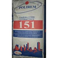 Клей для газобетону Полірем 151, 25кг