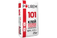 Клей для плитки для внутрішніх і зовнішніх робіт Полірем 101, 25кг
