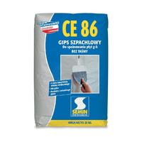 Шпаклівка високоміцна CE86 SEMIN, 25кг (аналог Уніфлот)