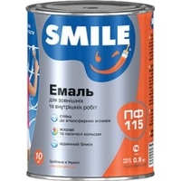 Емаль Smile ПФ-115 БІЛА (2,8 КГ)