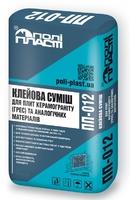 Клейова тиксотропна суміш для плит з керамограніта Грес Поліпласт ПП-012, 25кг