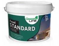 Фасадна акрилова фарба Green Line Fasad Standard, 10л