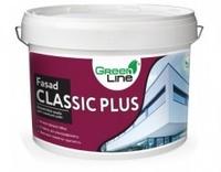 Фасадна акрилова фарба Green Line Fasad Classic Plus, 10л
