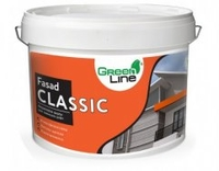 Фасадна акрилова фарба Green Line Fasad Classic, 10л
