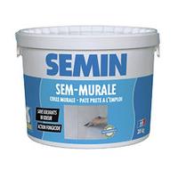 Клей готовий для стеклообоев і тканини SEMIN SEM-MURALE, 10кг