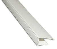 Профіль торцевої для ГКЛ, пластиковий 12,5 мм, 3м