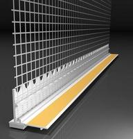 Профіль ПВХ віконний примикає з армуючої сіткою KNAUF L подібний, 3м