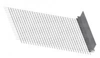 Ceresit CT 340 Профіль примикає зі склотканини для віконних і дверних блоків, 6 мм х 2,4 м (A / 03)