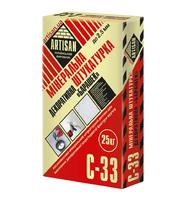 "Артисан С-33/25 кг 2,5 зерно Мінеральна декоративна штукатурка ""баранчик"""