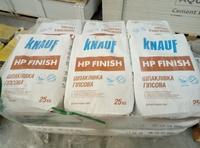 Фінішна гіпсова суміш Кнауф HР ФІНІШ, 25 кг.