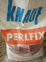 Клей монтажний для ГКЛ Кнауф Перлфікс, 30 кг