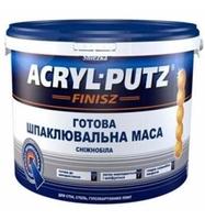 Готова шпаклівка SNIEZKA АКРИЛ-Путс, відро 27 кг, 24 шт / п