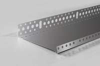 Профіль стартовий (цокольний) алюмінієвий 53мм, 2,5 м